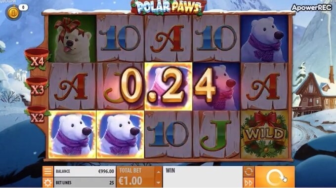 Polar Paws slot review UK