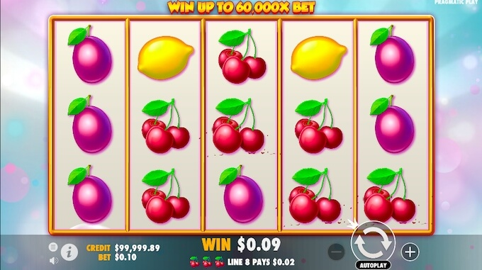 Extra Juicy Slot game