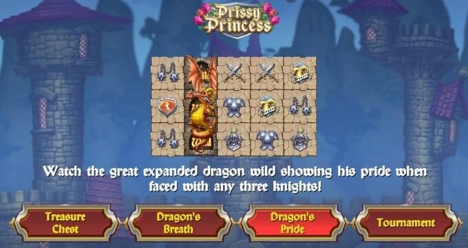 Play Prissy Princess slot at Dunder Casino