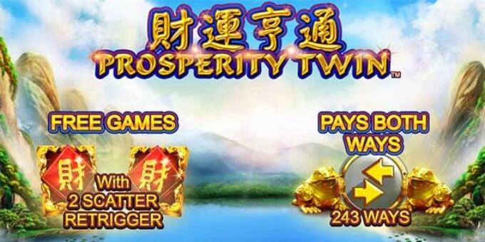 Play Prosperity Spin slot at LeoVegas casino