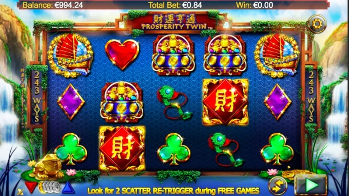 Prosperity Spin slot review and bonus