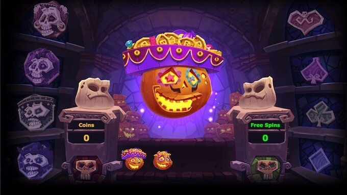 Pumpkin Smash bonus round