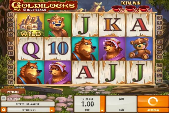 Goldilocks slot review and bonus