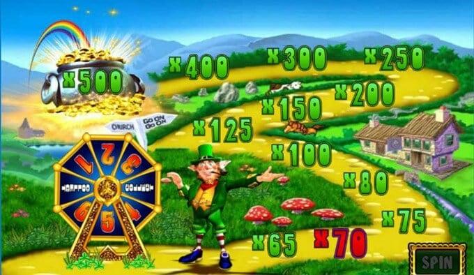 Play Rainbow Riches slot at Casumo casino