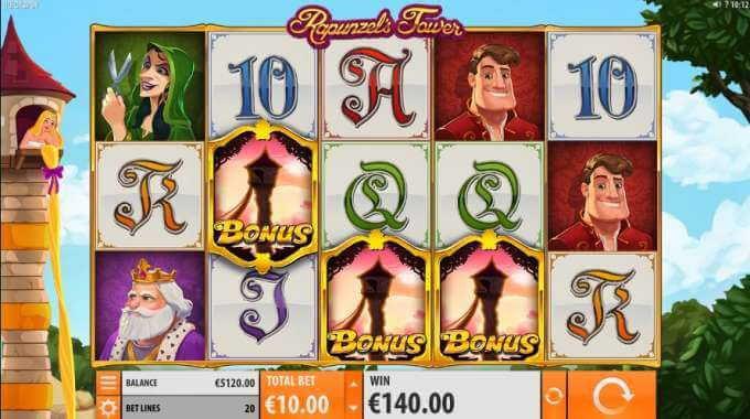 Play Rapunzel's Tower slot now!