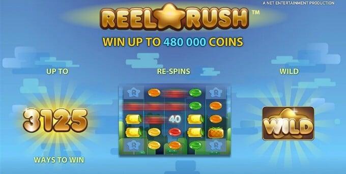 Play Reel Rush at Rizk Casino