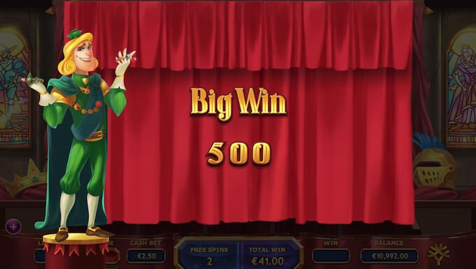 Royal Family slot big win