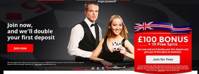 Royal Panda casino bonus UK