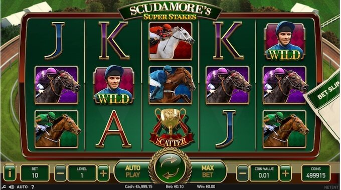 Scudamores's Super Stakes slot NetEnt