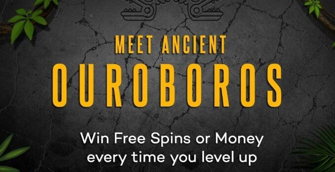ShadowBet Casino Ouroboros Reward system