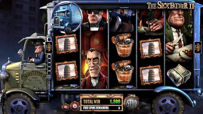 Play Slotfather 2 at InstaCasino