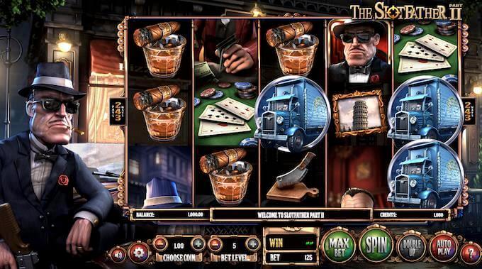 Play Slotfather 2 slot at Guts casino