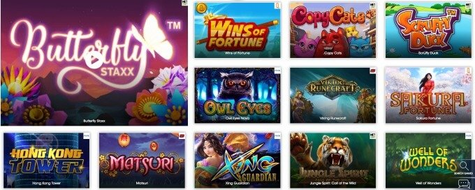 Play at sloty casino - over 1,300 games