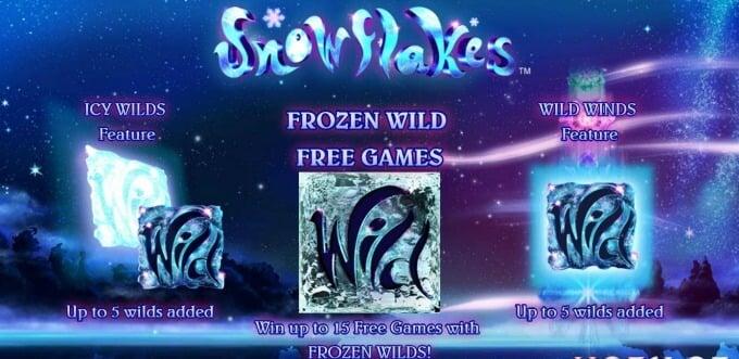 Play Snowflakes slot at Mr Green Casino