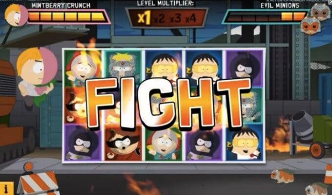 Play South Park Reel Chaos slot at Betsafe Casino