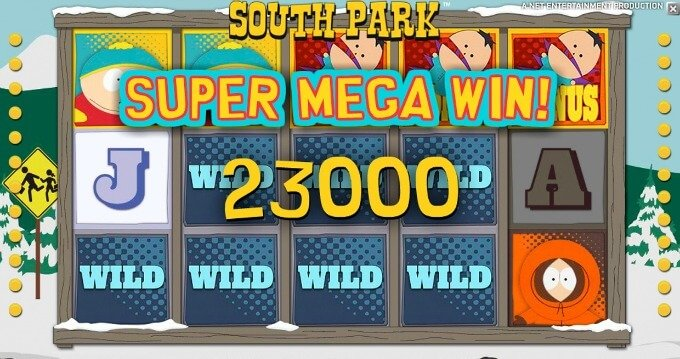 Play South Park slot at Rizk casino