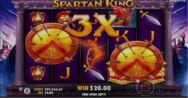 Spartan Kings Slot Pragmatic Play