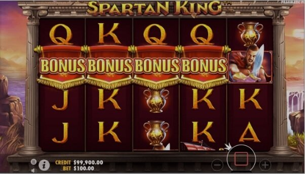 Spartan King Bonus