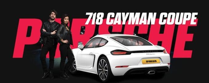 Spin Rider Porsche promotion