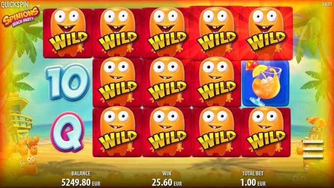Play Spinions slot on InstaCasino