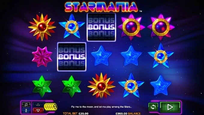 Play Starmania slot at LeoVegas casino