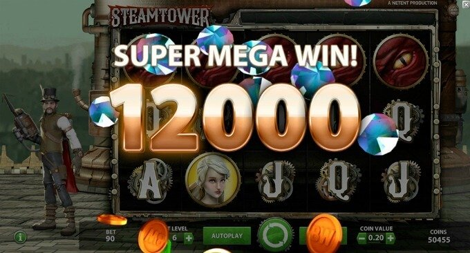 Play Steam Tower slot