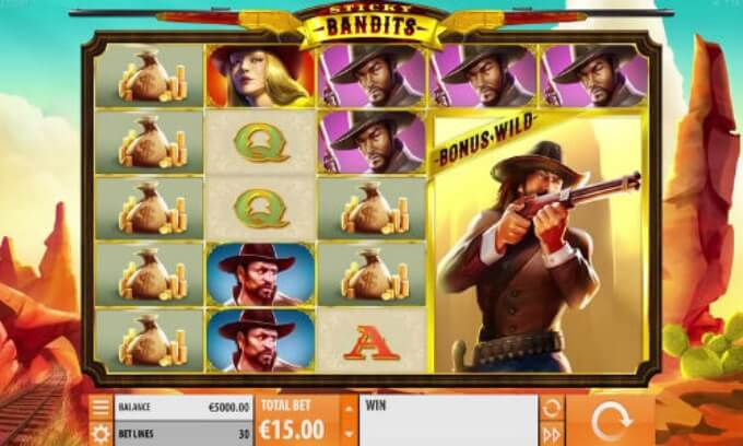 Sticky Bandits slot review and bonus