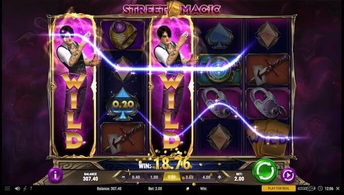 Street Magic slot wilds