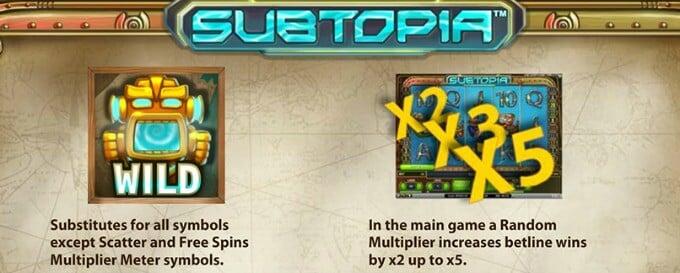 Play Subtopia slot at Betsafe casino