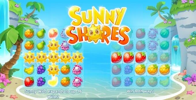Play Sunny Shores slot at ComeOn casino soon