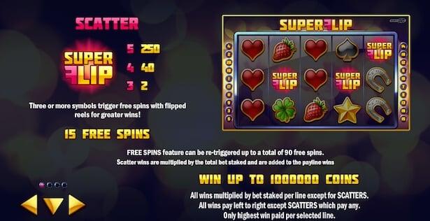 Play Superflip at Unibet casino