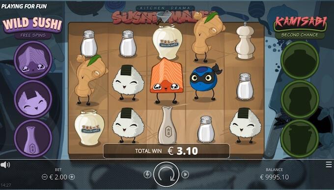 Kitchen Drama: Sushi Mania slot