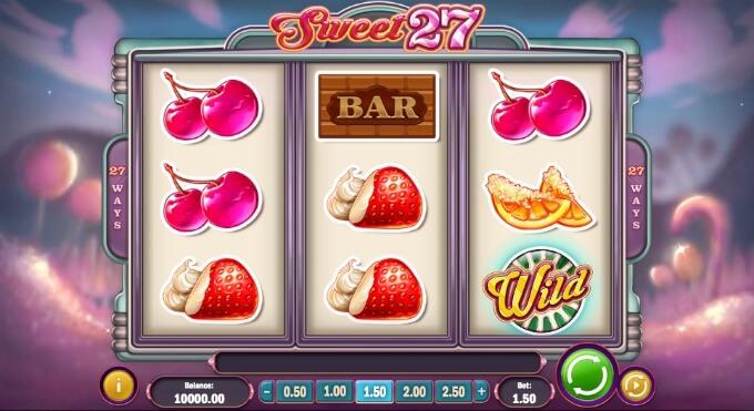 Sweet 27 slot review and bonus