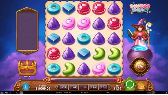 Sweet Alchemy slot base game