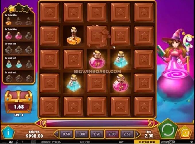 Sweet Alchemy slot bonus game