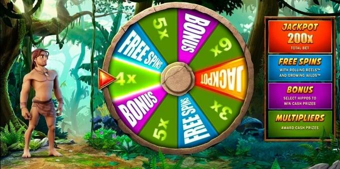Play Tarzan slot at Betsafe casino