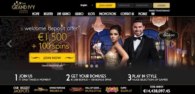 The Grand Ivy Casino UK casino