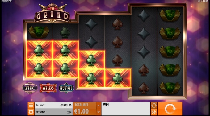 The Grand slot review Quickspin