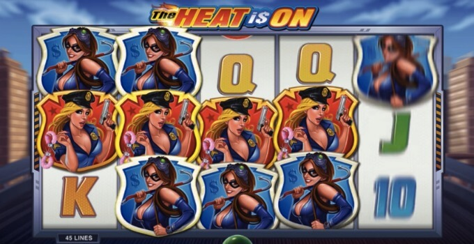 The Heat is On slot free spins