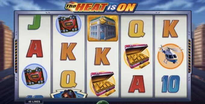 Play The Heat is On slot