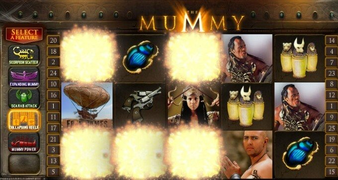 Play the Mummy slot
