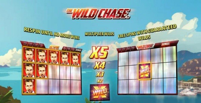 Play The Wild Chase slot at Dunder Casino