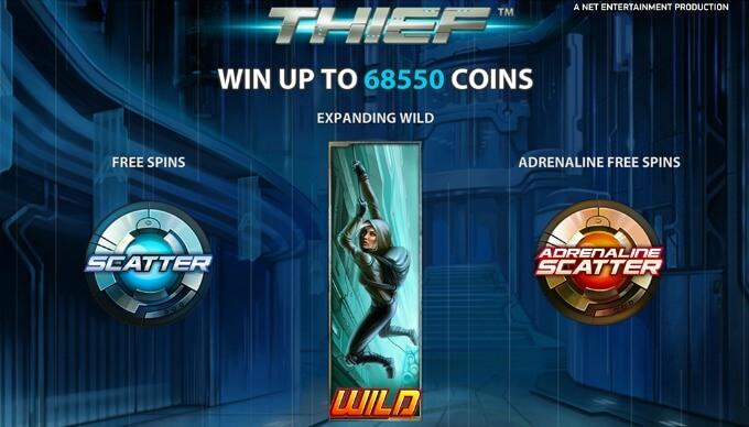 Play Thief slot