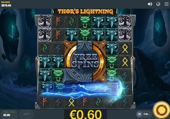 Thors Lightning slot