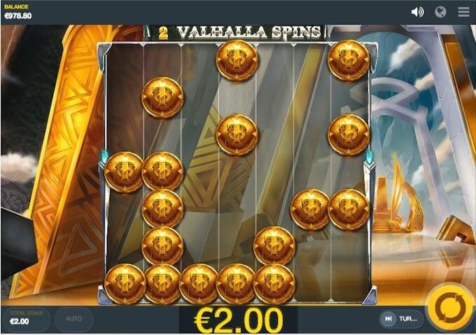 Thor's Lightning slot Valhalla spins