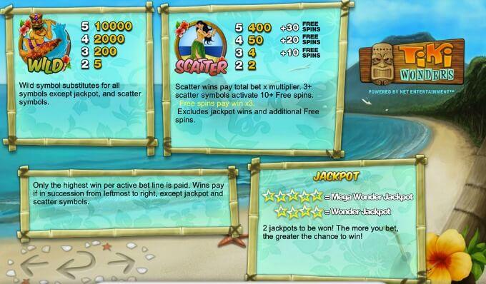 Play Tiki Wonders