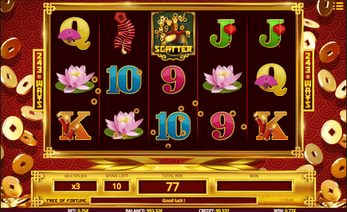 Tree of Fortune slot free spins
