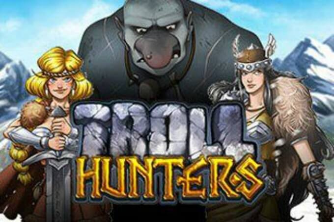 Play Troll Hunters slot at Rizk casino