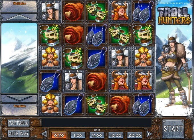 Play Troll Hunters slot
