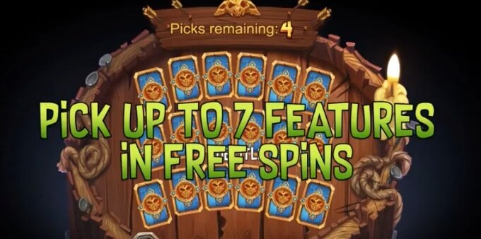 Trolls Bridge slot bonus and free spins